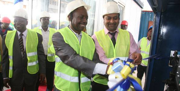 The First in Tanzania Bitumen Emulsion Production Plant was Successfully Started Up