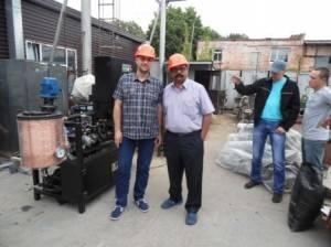 Laboratory bitumen equipment