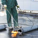 Bitumen-polymer rolled materials
