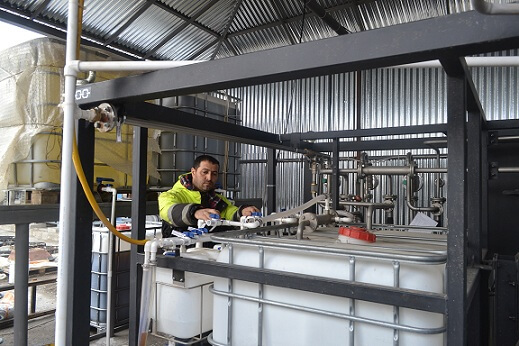 Bitumen modification equipment